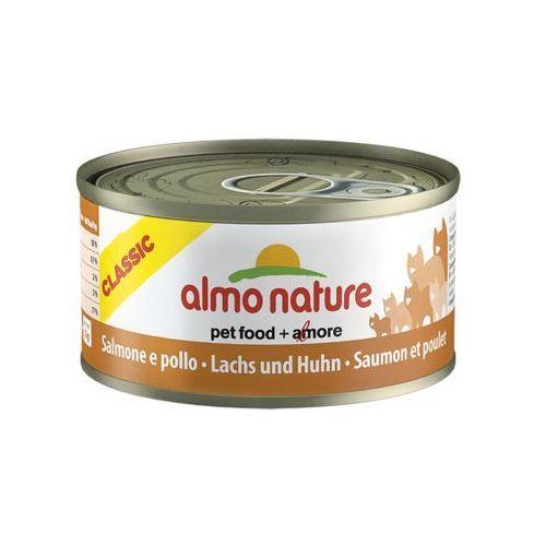 kurczak z łososiem - puszka 70g marki Almo nature