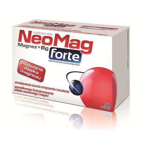 Tabletki NEOMAG FORTE tabl. - 50 tabl.