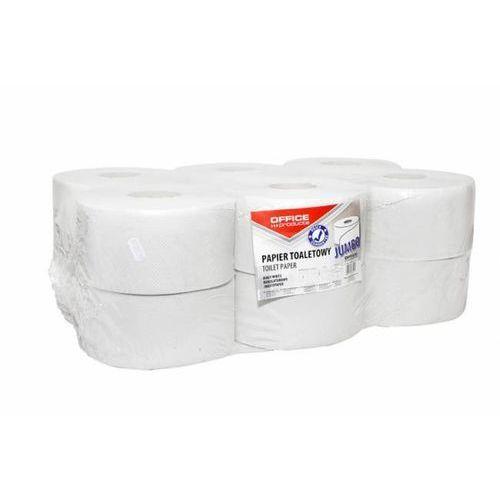 Papier toaletowy 1W makulatura JUMBO biały - X07409 - produkt z kategorii- Papier toaletowy