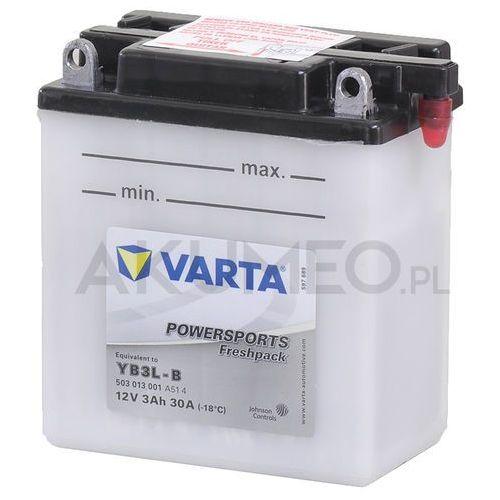 Akumulator VARTA Powersports YB3L-B 12V 3Ah 30A prawy+ oP (4016987140406)