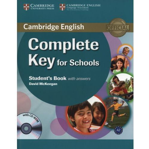 Complete Key for Schools Student's book with answers with CD-ROM (9780521124713)
