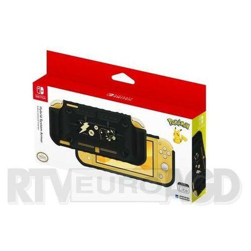 switch lite hybrid system armor pikachu black & gold marki Hori