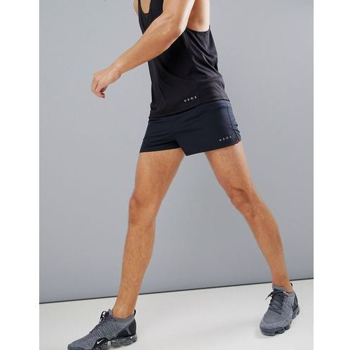 Asos 4505 training shorts in short length with quick dry in black - black