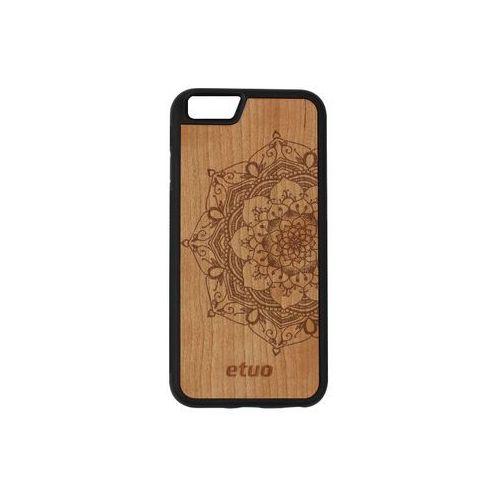 Apple iPhone 6 - etui na telefon Wood Case - czereśnia - mandala, ETAP138EWODCZ002000