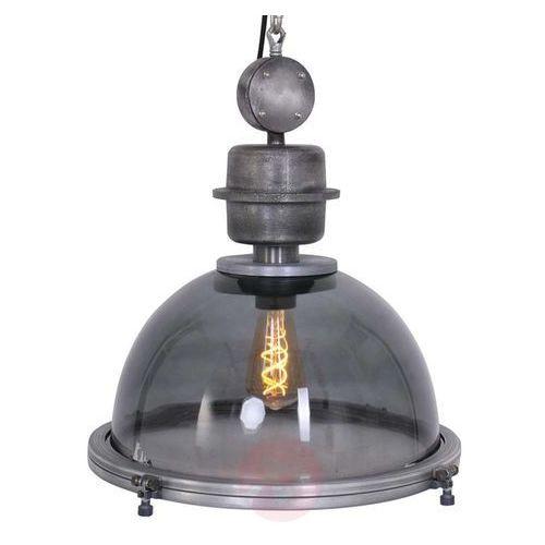 Steinhauer bikkel lampa wisząca siwy, 1-punktowy - przemysłowy - obszar wewnętrzny - bikkel - czas dostawy: od 6-10 dni roboczych