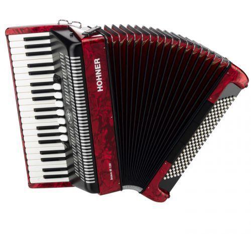 bravo iii 120 akordeon (czerwony) marki Hohner