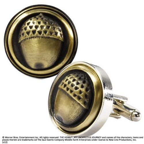 The Hobbit An Unexpected Journey Bilbo Baggins Button Cufflinks (NN1490), NN1490