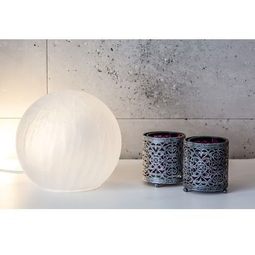 Lampa oprawa stołowa 4Concepts Livorno 1x40W E14 biały L102113000 (5901688141120)