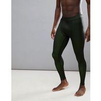 running tights in 2 tone jersey - yellow marki Asos 4505