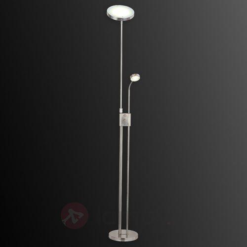 Brilliant Sunniva - okrągła lampa stojąca led