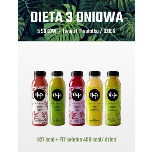 Nuja Dieta oczyszczająca 3 dniowa - detoks sokowy