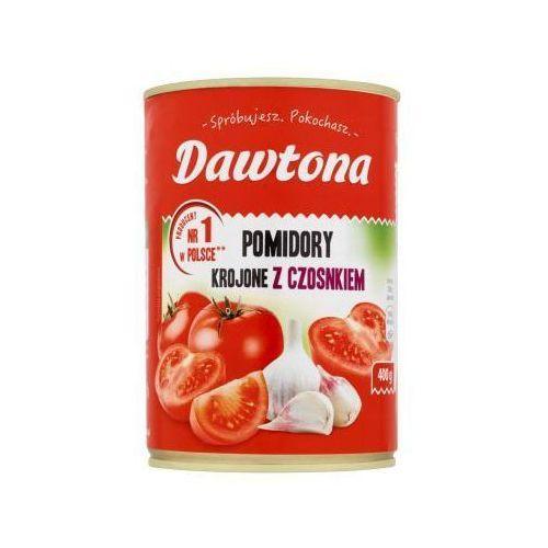 Dawtona Pomidory krojone z czosnkiem 400 g  (5901713000057)
