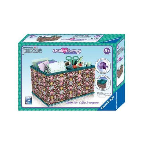 Puzzle 216 elementów 3d - kuferek na skarby: m.beth rap120826 - marki Ravensburger