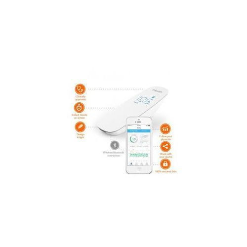 iHealth Wireless Glucose Meter Kit - Elektroniczny glukometr bezprzewodowy iOS/Android (Bluetooth) ZESTAW BG5-KIT. Najniższe ceny, najlepsze promocje w sklepach, opinie.