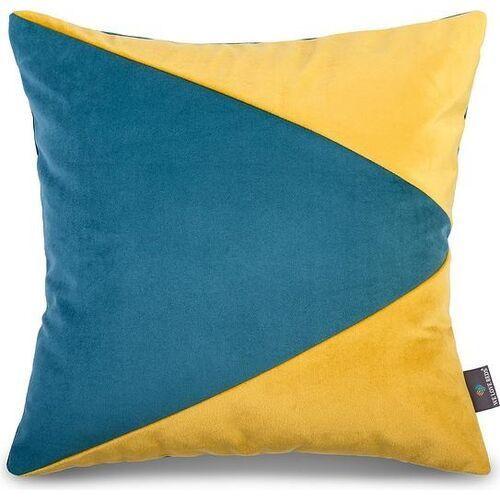 We love beds Welurowa poszewka na poduszkę hong kong, kwadratowa - (5902409734232)