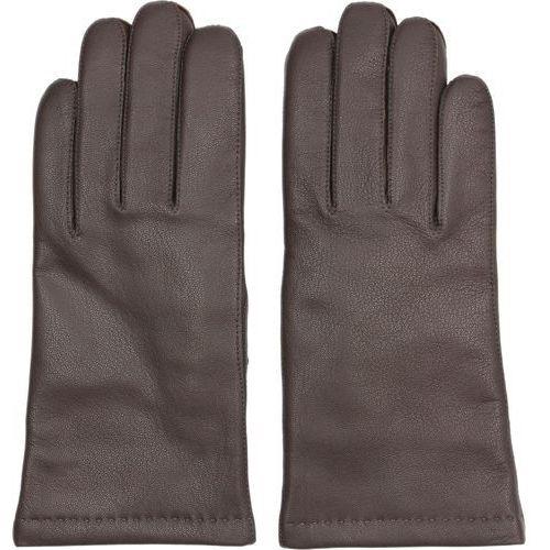 Rękawiczki wardon brąz marki Recman