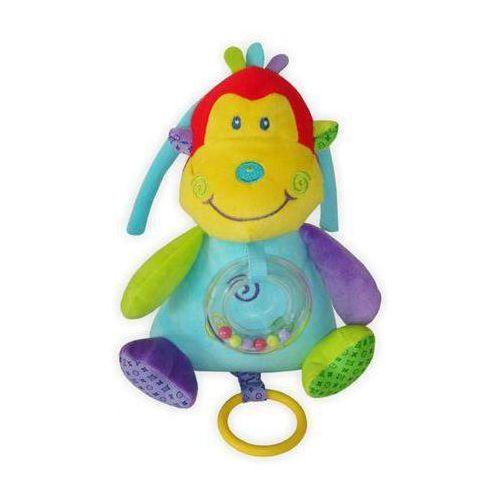 Alexis baby mix Pluszowa pozytywka z grzechotką małpka