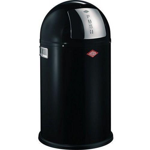 Wesco Pushboy Junior 22l - kosz na śmieci, czarny (4004519125052)