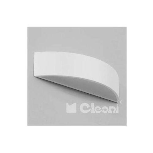 Cleoni Kinkiet lampa ścienna aba 1267kb1ae1+kolor półokrągła oprawa metalowa (1000000413373)