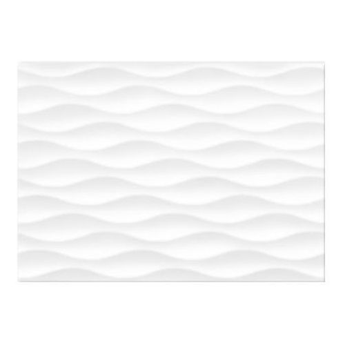 Glazura tania 25 x 35 cm white stripes matowa 1,4 m2 marki Cersanit