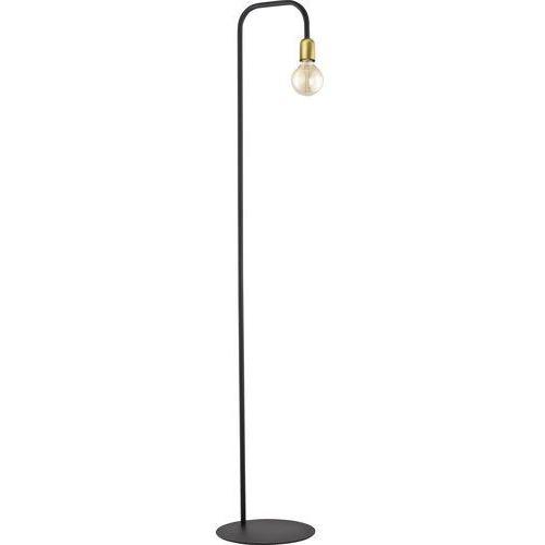 Tklighting Lampa stojąca edison podłogowa loft tk lighting estrella 1x60w e27 czarna / patyna 3039