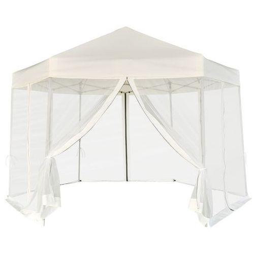 Vidaxl  namiot ogrodowy z 6 panelami bocznymi kremowy 3,6x3,1 m (8718475973652)