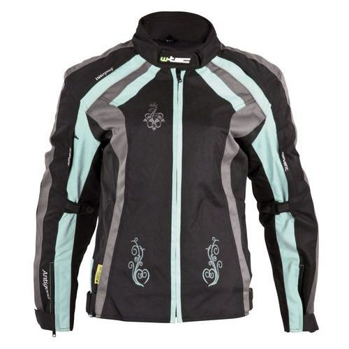Damska kurtka motocyklowa W-TEC Antigona, Czarno-zielony, XS, 1 rozmiar