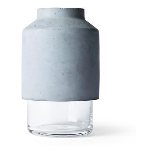Wazon z betonu i szkła willmann marki Menu