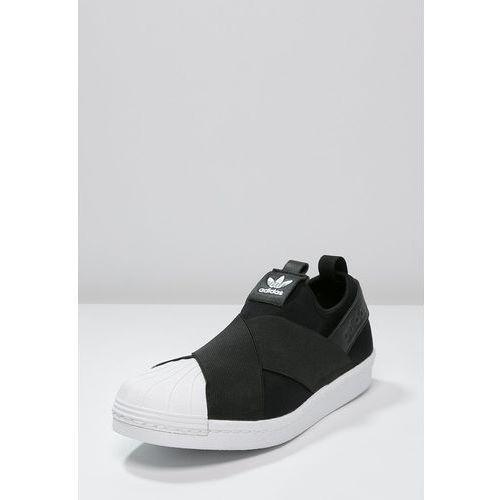 adidas Originals SUPERSTAR Półbuty wsuwane core blackwhite