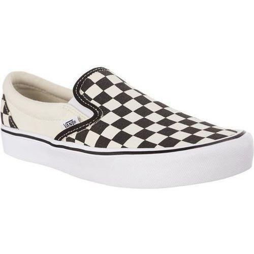 classic slip on lite ib8 checkerboard black classic white - buty sneakersy, Vans