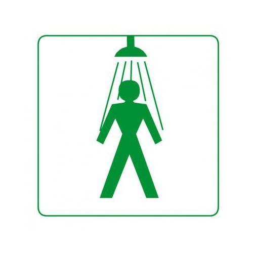 Plastikowa tabliczka na drzwi - prysznic męski marki B2b partner