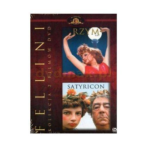 Fellini: Rzym / Satyricon (DVD) - Federico Fellini. DARMOWA DOSTAWA DO KIOSKU RUCHU OD 24,99ZŁ (5903570139192)