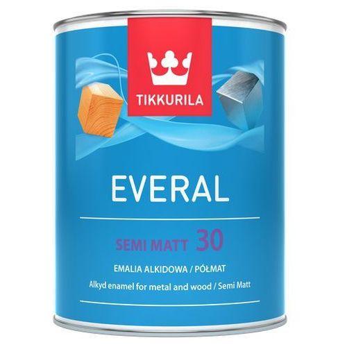 everal semi matt 30- farba do drewna i metalu, baza a, 0.9l marki Tikkurila