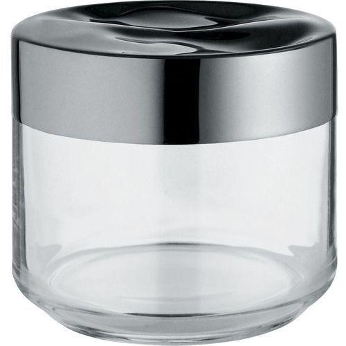 julieta pojemnik hermetyczny ze szkła z pokrywą ze stali nierdzewnej mały (lc07) darmowy odbiór w 21 miastach! marki Alessi