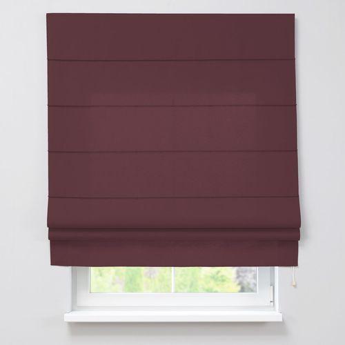 roleta rzymska padva, burgund, szer.160 x dł.170 cm, taffeta do -30% marki Dekoria