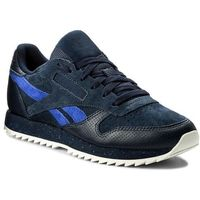 Buty - cl lthr ripple sm bs9727 collegiate navy/acid, Reebok, 35-46