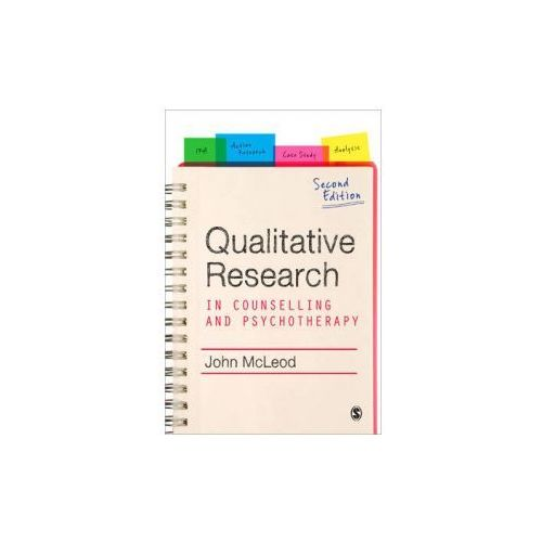 Qualitative Research in Counselling and Psychotherapy (9781849200622)