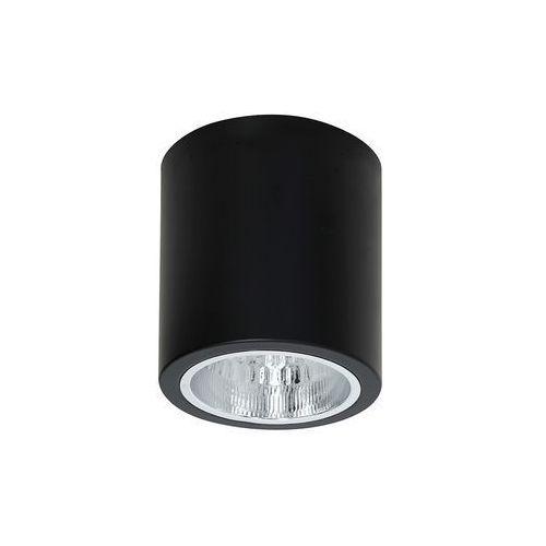 Luminex Plafon lampa sufitowa downlight round 1x60w e27 czarny 7239 >>> rabatujemy do 20% każde zamówienie!!!
