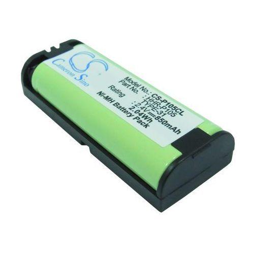 Panasonic HHR-P105 850mAh 2.04Wh NiMH 2.4V (Cameron Sino) (4894128021520)