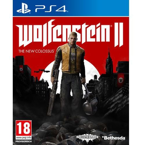 Wolfenstein 2 The New Colossus (PS4)