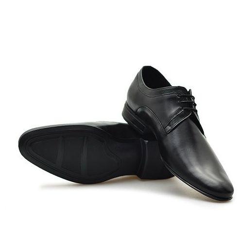 Pantofle c00c-5853-z002-m5s01 czarne lico marki Conhpol
