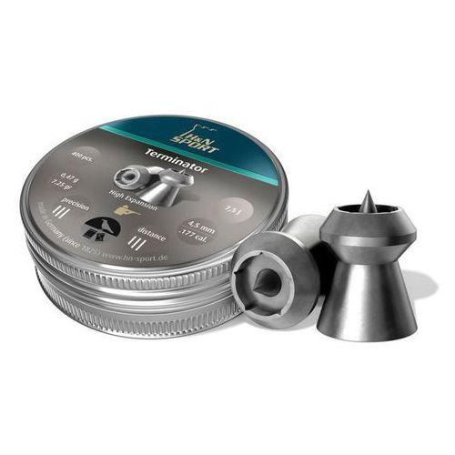 H&n sport Śrut diabolo h&n terminator 4.5mm 400szt (92214500003) (4047058015040)