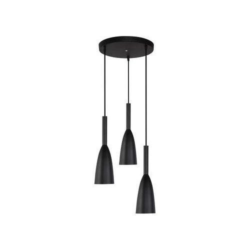 Light prestige Lampa wisząca solin czarna e27 (5907796368893)