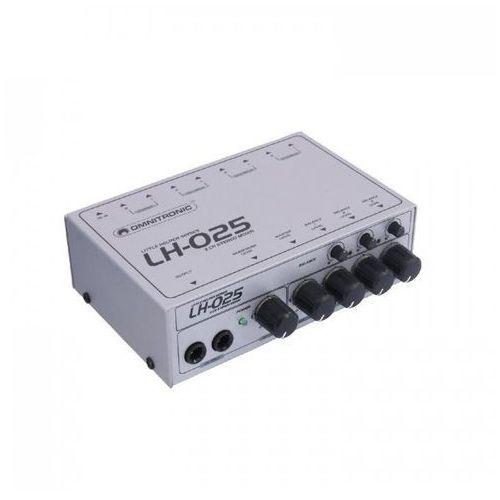 Lh-025 3-kanalowy mikxer stereo/mono marki Omnitronic