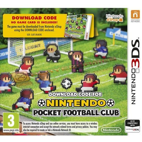 pocket football club 3ds marki Nintendo