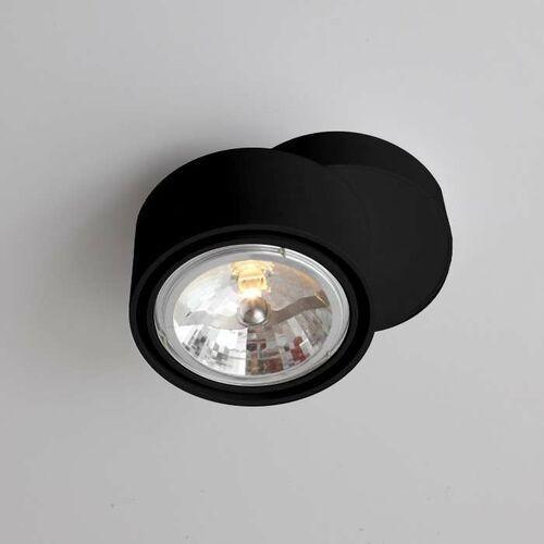 Plafon LAMPA sufitowa HIMI 1121 Shilo natynkowa OPRAWA metalowa czarna, kolor biały;czarny