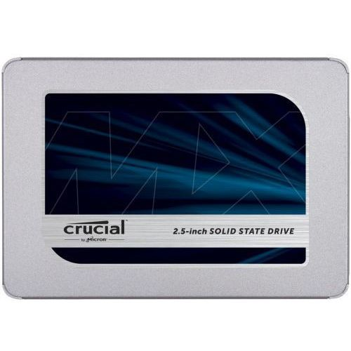 Dysk SSD CRUCIAL MX500 250GB SATA 3 (560/510 MB/s) 3D NAND, 7mm, CT250MX500SSD1