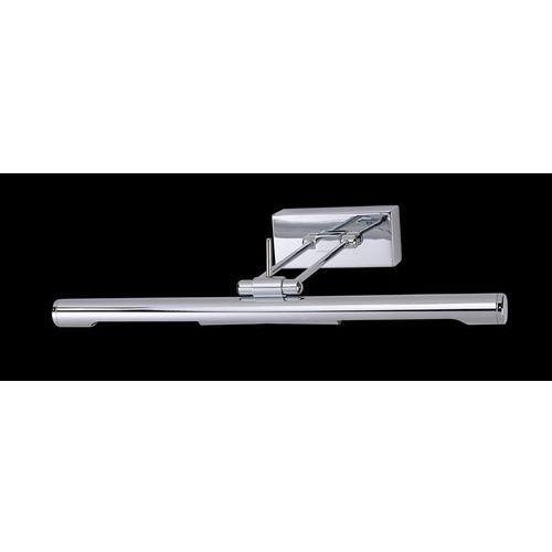 Kinkiet LAMPA ścienna TECHNIC 966/2G9 CHROM Italux metalowa OPRAWA nad lustro GALERYJKA listwa chrom (5900644337102)