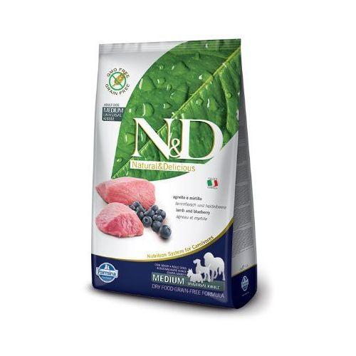 N&D GRAIN FREE ADULT MEDIUM LAMB&BLUEBERRY - FARMINA (8010276020260)