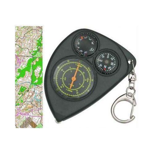 Explorer Krzywomierz + kompas + termometr + karabińczyk.